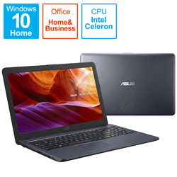 ASUS(エイスース) ノートパソコン R543MA スターグレー R543MA-GQ1191TS [15.6型 /intel Celeron /SSD:256GB /メモリ:4GB /2021年4月モデル]