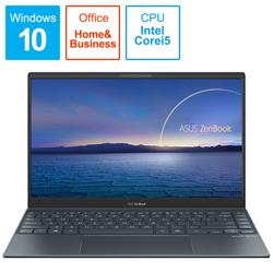 ASUS(エイスース) ノートパソコン ZenBook 13 UX325EA パイングレー UX325EA-EG109TS [13.3型 /intel Core i5 /SSD:512GB /メモリ:8GB /2020年11月モデル]