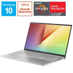 ASUS(エイスース)  【店頭併売品】 ノートパソコン VivoBook 15 X512DA トランスペアレントシルバー X512DA-BC884TS [15.6型 /AMD Ryzen 5 /SSD:512GB /メモリ:8GB /2020年12月モデル]