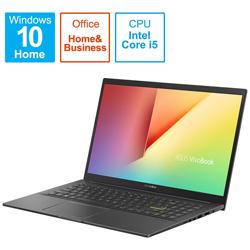 ASUS(エイスース) ノートパソコン VivoBook 15 K513EA インディーブラック K513EA-BC158TS [15.6型 /intel Core i5 /SSD:512GB /メモリ:8GB /2021年1月モデル]