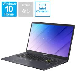 ASUS(エイスース) ノートパソコン ASUS E510MA スターブラックメタル E510MA-EJ200T [15.6型 /intel Celeron /eMMC:128GB /メモリ:4GB /2021年2月モデル]