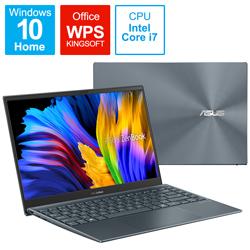 ASUS(エイスース) UX325JA-KG252B ノートパソコン ZenBook 13 OLED(有機EL) パイングレー [13.3型 /intel Core i7 /SSD:512GB /メモリ:16GB /2021年6月モデル]