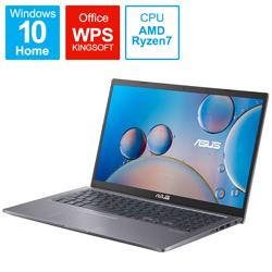 ASUS(エイスース) ノートパソコン M515UA スレートグレー M515UA-BQ296T [15.6型 /AMD Ryzen 7 /メモリ:8GB /SSD:512GB /2021年8月モデル]