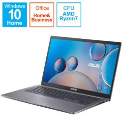 ASUS(エイスース) ノートパソコン M515UA スレートグレー M515UA-BQ296TS [15.6型 /AMD Ryzen 7 /メモリ:8GB /SSD:512GB /2021年8月モデル]