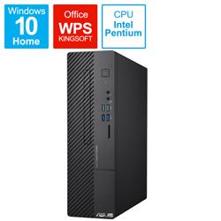ASUS(エイスース) D500SC-G6405T デスクトップパソコン ExpertCenter D5 SFF D500SC ブラック [モニター無し /intel Pentium /メモリ:8GB /HDD:1TB /SSD:256GB /2021年8月モデル]