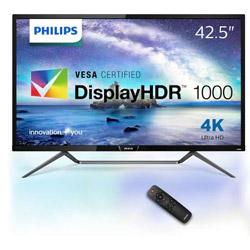 フィリップス 436M6VBPAB/11 42.5型 HDR1000/4K対応液晶ディスプレイ[3840×2160/MVA/DisplayPort・M-DP・HDMI・USB Type-C]