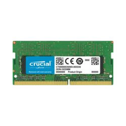 Crucial Micron製 ノートPC用 メモリ PC4-21300 DDR4-2666 8GB×1枚 CL19