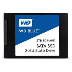 WesternDigital(ウエスタンデジタル) WDS200T2B0A 内蔵SSD WD BLUE 3D NAND SATA SSD [2.5インチ /2TB]