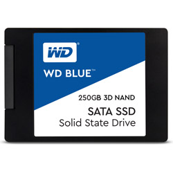 WesternDigital(ウエスタンデジタル) WDS250G2B0A 内蔵SSD WD BLUE 3D NAND SATA SSD [2.5インチ /250GB]
