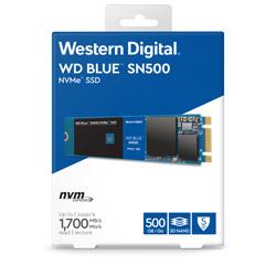 WesternDigital(ウエスタンデジタル) 【国内正規代理店】WD 内蔵SSD M.2-2280 / 500GB / WD Blue SN500 NVMe SSD / WDS500G1B0C WDS500G1B0C