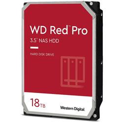内蔵HDD SATA接続 WD Red Pro(NAS)  WD181KFGX [3.5インチ /18TB]