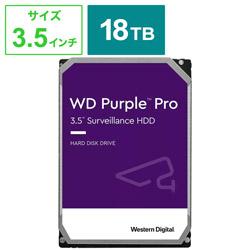 内蔵HDD SATA接続 WD Purple Pro  WD181PURP [18TB /3.5インチ]