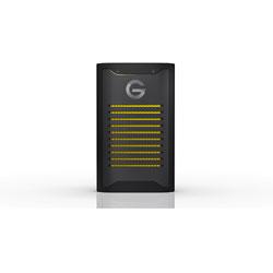 SDPS41A-004T-SBANB 外付けSSD USB-C+USB-A接続 【受注生産品】 G-DRIVE ArmorLock SSD ブラック [4TB /ポータブル型]