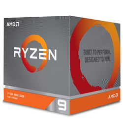 AMD Ryzen 9 3900X With Wraith Prism cooler (12C24T