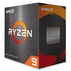 〔CPU〕AMD Ryzen 9 5900X W/O Cooler (12C/24T,3.7GHz,105W)【CPUクーラー別売】   100-100000061WOF