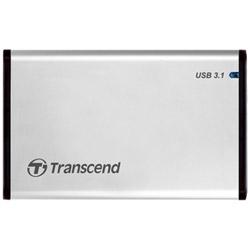 HDD/SSDケース 2.5インチ[USB3.1/SATA・Mac/Win/Linux] StoreJet 25S3 TS0GSJ25S3 シルバー