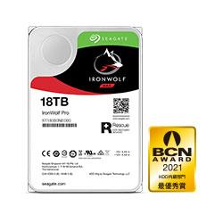 内蔵HDD SATA接続 IronWolf Pro(NAS)  ST18000NE000 [3.5インチ /18TB]