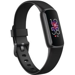 FITBIT Fitbit Luxe フィットネストラッカー ブラック/グラファイト L/Sサイズ   FB422BKBK-FRCJK