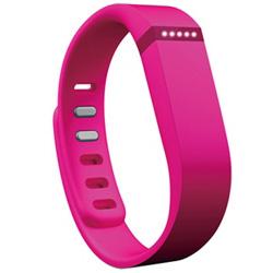 ウェアラブル活動量計(リストバンドタイプ) ワイヤレス活動量計+睡眠計リストバンド 「Fitbit Flex」 FB401PK-JPN ピンク