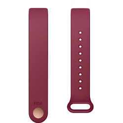 Fitbit Inspire/Inspire HR専用 クラシックリストバンド Sangria サングリア Sサイズ FB169ABBYS