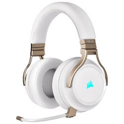 CA-9011224-AP ゲーミングヘッドセット Virtuoso RGB WIRELESS Pearl パールホワイト [ワイヤレス(USB)+有線 /両耳 /ヘッドバンドタイプ]