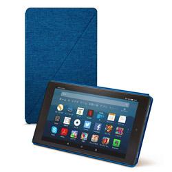 Amazon アマゾン Amazon純正 Fire HD 8 タブレット (第7世代、第8世代) 用カバー マリンブルー B01N9880VN