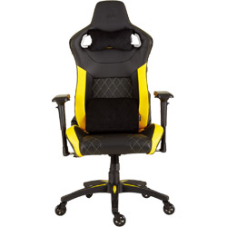 CORSAIR(コルセア) CORSAIR T1 RACE Black/Yellow [ゲーミングチェア/ブラック・イエロー] CF-9010015-WW
