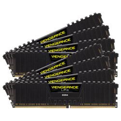 増設メモリ VENGEANCE LPX ブラック CMK128GX4M8X3200C16 [DIMM DDR4 /16GB /8枚]