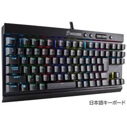 CORSAIR(コルセア) 有線ゲーミングキーボード [USB・Win] K65 RAPIDFIRE CherryMX Speed RGB COMPACT(91キー・日本語) CH-9110014-JP