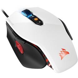 マウス CH-9300111-AP ホワイト [光学式 /8ボタン /USB /有線]