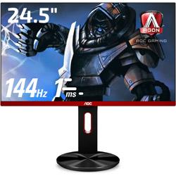 AOC(エーオーシー) G2590PX/11 ゲーミングモニター Black & Red [24.5型 /ワイド /フルHD(1920×1080)]
