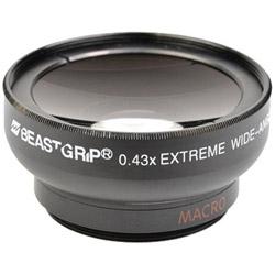 ビーストグリップ 0.43×スーパーワイドレンズ(マクロ) BG-SW