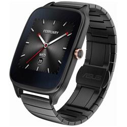 ウェアラブル活動量計(ウォッチタイプ) Android Wear スマートウォッチ 「ASUS ZenWatch 2」(49mmモデル・本体:ガンメタル/ストラップ:ガンメタル[メタル]) WI501Q-GM04