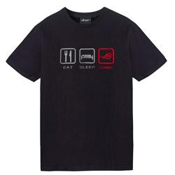 ROG Tシャツ-LIFE STYLE(ブラック)