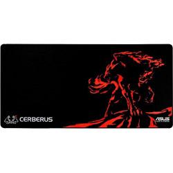 CERBERUS MAT XXL ゲーミングマウスパッド[900x440x3mm]四角型/レッド 90YH01C1-BDUA00