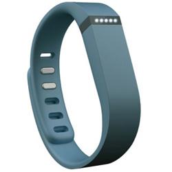 ウェアラブル活動量計(リストバンドタイプ) ワイヤレス活動量計+睡眠計リストバンド 「Fitbit Flex」 FB401SL-JPN スレート