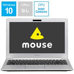 マウスコンピュータ MouseComputer 【アウトレット】 ノートPC MB13BCM4S1WLT [Celeron・13.3インチ・SSD 120GB・メモリ 4GB]