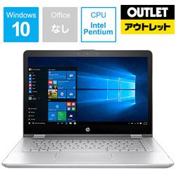 HP ヒューレット・パッカード 【アウトレット品】 モバイルノートPC HP 5DB15PAAAAE [Pentium・14.0インチ・SSD 256GB・メモリ 4GB] 【数量限定品】