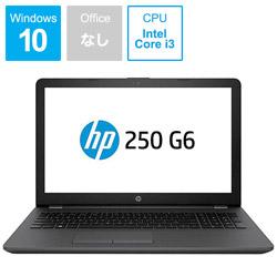 HP ヒューレット・パッカード 【アウトレット】 ノートPC HP 250 G6 4WD76PA-AAAK [Core i3・15.6インチ・HDD 500GB・メモリ4GB]