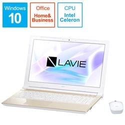 NEC エヌイーシー 【アウトレット】 ノートPC NEC LAVIE Direct NS PC -GN18CRSSDC5BD5TDA [Celeron・15.6インチ・500GB・メモリ4GB]