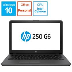 HP ヒューレット・パッカード 【アウトレット】 ノートPC HP 250 G6 4PA35PA-AAFE [Celeron・15.6インチ・Office付き・HDD 500GB・メモリ4GB]