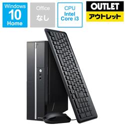 マウスコンピューター(mouse computer) デスクトップPC LM381S24H18L [Core i3・SSD 240GB・メモリ 8GB] 〓メーカー保証あり〓【生産完了品】