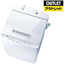 TOSHIBA(東芝) 【アウトレット品】 全自動洗濯機 ZABOON(ザブーン) [洗濯9.0kg /乾燥機能無 /上開き] AW-9SD7(W) グランホワイト 【生産完了品】