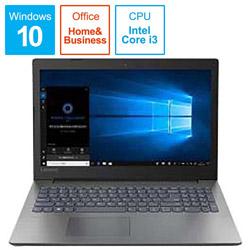 レノボジャパン Lenovo 【アウトレット】 ノートPC Ideapad 330 81DE001LJP [Core i3・15.6インチ・Office付き・HDD 500GB・メモリ 4GB]