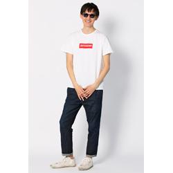 DeToNator オリジナルTシャツ ホワイト/レッド