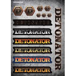ソフマップ 【店頭併売品】 DeToNator(デトネーター)001ステッカー