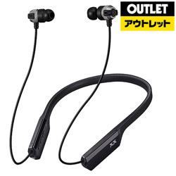 JVCケンウッド 【生産完了品】 HA-FX33XBT-S bluetoothイヤホン カナル型 シルバー [リモコン・マイク対応 /ワイヤレス(ネックバンド) /Bluetooth]