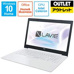 NEC PC-GN18CR ノートPC [15.6型 /Celeron /SSD:256GB /メモリ:4GB/Office2019付属] 【数量限定品】