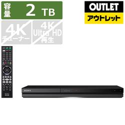 ソニー ブルーレイレコーダー BDZ-ZW2700 [2TB /2番組同時録画] 【生産完了品】