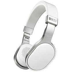 KEF 【在庫限り】 M500WH(ホワイト)<1.3mコード>(iPod/iPhone/iPad用)【マイク対応】 密閉型ヘッドホン